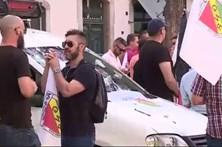 Centenas de militares da GNR em protesto em Lisboa