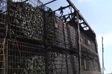 Camião incendeia-se em Condeixa