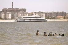 Tejo sem praias devido à poluição