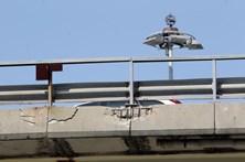 Viadutos de Pedrouços também degradados