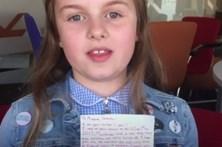 Menina sobrevive a ataque e escreve carta a reconfortar Ariana