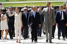 Marcelo impressionado com a representação portuguesa na Feira do Livro de Madrid