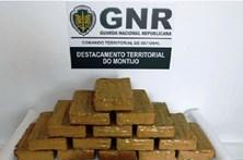 GNR apreendeu cerca de 19 quilos de cocaína no Montijo