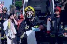 Bombeiros de Espinho resgataram bebé de quatro meses