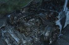 Carro usado para fuga encontrado em Valongo