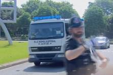 Polícia preocupada com segunda bomba