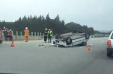 Despiste na A1 faz um morto em Coimbra
