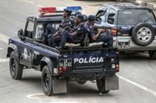 Forte dispositivo policial trava manifestação de ativistas em Luanda