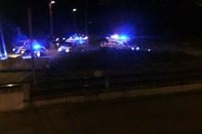 Imagens mostram confusão após tiroteio em Matosinhos