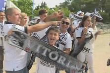 Adeptos minhotos confiantes no triunfo do Vitória de Guimarães