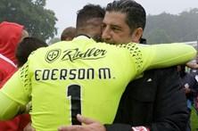 Ederson admite que fez o último jogo pelo Benfica
