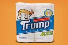 Mexicanos contra-atacam com papel higiénico Trump