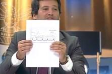 André Ventura oferece 200 euros a Bruno de Carvalho
