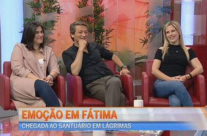 Emoção em Fátima