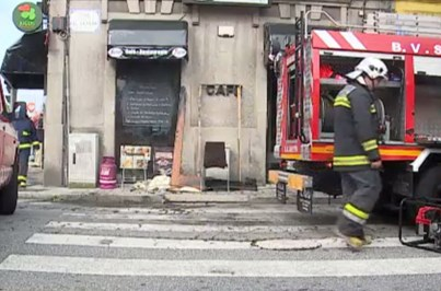 Fogo destrói restaurante de Matosinhos