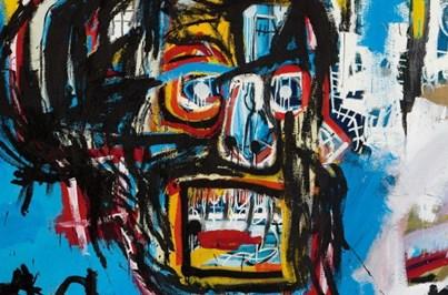Obra de Basquiat vendida por valor recorde de 100 milhões de euros