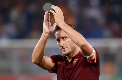 Totti confirma que vai disputar no domingo o último jogo pela Roma
