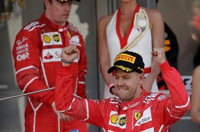 Sebastien Vettel, da Ferrari, vence Grande Prémio do Mónaco