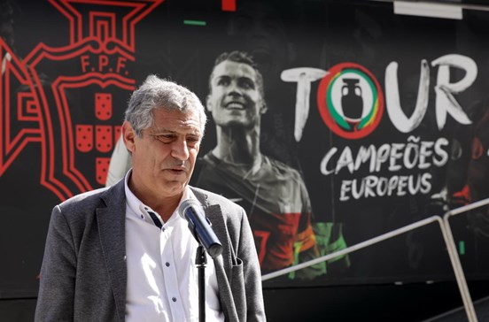 Fernando Santos divulga convocados para a Taça das Confederações