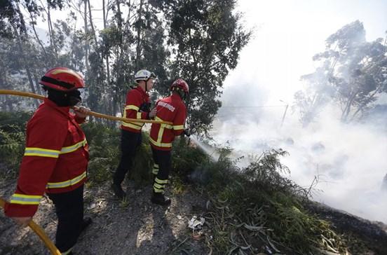 Fogo em freguesia de Santa Maria da Feira mobiliza 70 operacionais