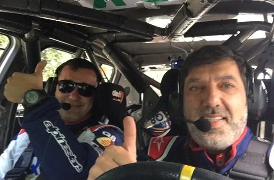 Piloto português Marco Reis ferido em despiste no Rali de Portugal