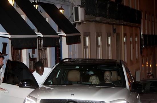 Madonna janta com Nuno Gomes em Lisboa