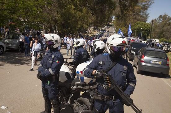 PSP diz estar preparada para eventual cenário de terrorismo na final da Taça de Portugal