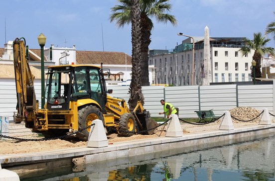 Docapesca já começou com as obras na doca de Faro