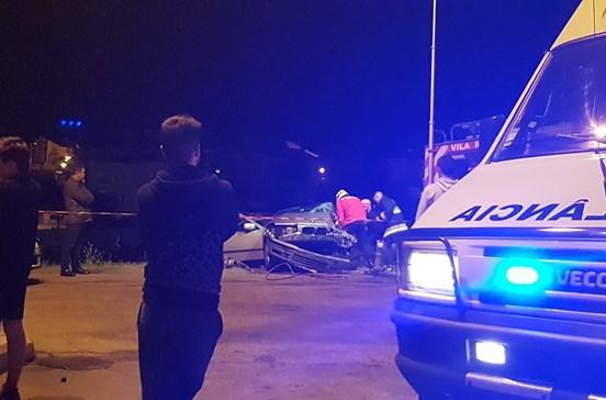 Acidente faz cinco feridos em Vila Real