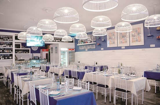Do mar para a mesa do Restaurante do Rio