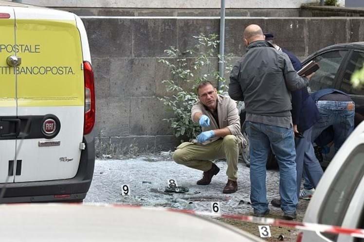 Carta armadilhada explode em Roma. Alerta máximo em Itália