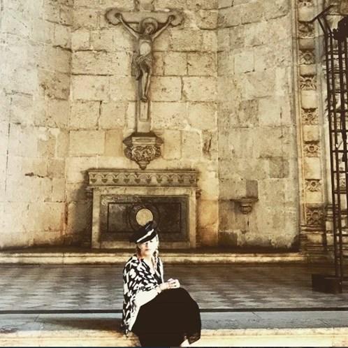 Madonna está novamente em Lisboa
