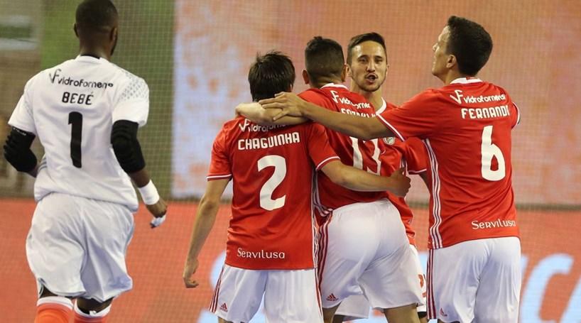 Benfica anuncia contratação do internacional espanhol Raúl Campos no futsal