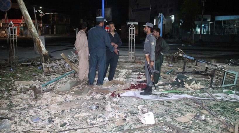 Três mortos em atentados bombistas no Afeganistão