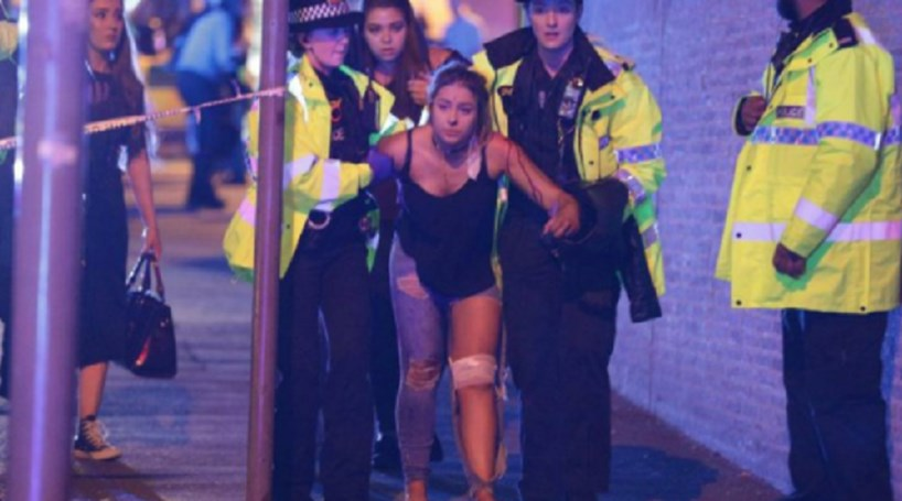 Imagens mostram terror após concerto de Ariana Grande