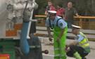 Despiste de camião condiciona trânsito no IP3 em Almaça