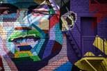 Russos criam mural com retrato de Ronaldo em Kazan