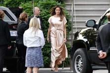 Melania Trump deslumbra em gala