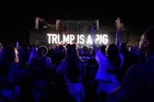 A canção é uma arma apontada  a Trump