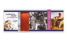 Livro de selos da indústria têxtil é lançado na Feira do Livro