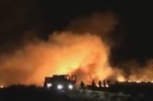 Incêndio dado como extinto durante a tarde pela Proteção Civil