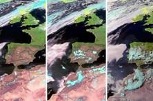 Imagens de satélite mostram como se formou a tempestade que matou dezenas