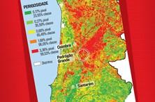 Pedrógão Grande está na zona de mais perigo de incêndios