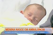 Eva nasce na ambulância