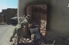 Vídeo mostra fuzileiros à procura de corpos em Pedrógão