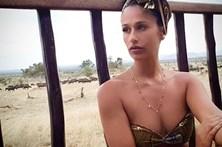 Rita Pereira esbanja sensualidade na Tanzânia