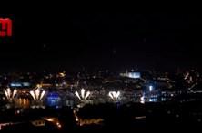 Fogo de artifício no Porto começa com 18 minutos de atraso