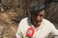 Chamas destruíram aldeia com apenas dois moradores