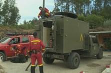 Populares chamam bombeiros por suspeita de fogo posto em Pedrógão