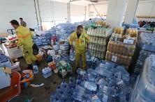 Bombeiros pedem suspensão da entrega de bens solidários